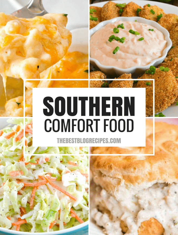 There is a reason we are all obsessed with The Best Southern Comfort Food Recipes. The Flavors make our mouths water and they make us feel at home. With rich tastes and amazing variety, these recipes are bound to become your new favorites!