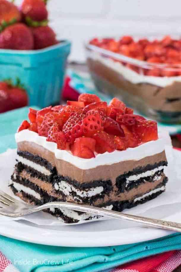 20. No Bake Nutella Oreo Ice Cream Cake-- Part of 30 The Best Nutella Recipes