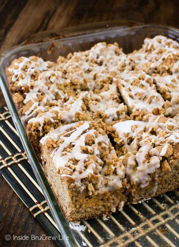 Banana Caramel Coffee Cake