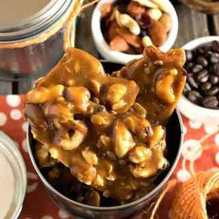 Coffee Nut Brittle