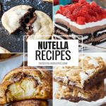 Nutella is everyone's absolute favorite, so obviously you need Easy to Make Nutella Recipes! With Nutella's fantastic flavor and popularity, we can promise these sweet treats will have everyone coming back for seconds!