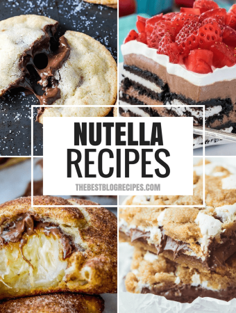 The Best Nutella Recipes