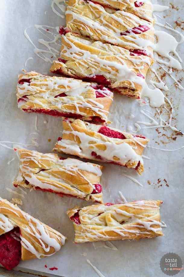 Red Velvet Cream Cheese Danish--- Part of 30 Breakfast Danishes to Start Mornings off Right
