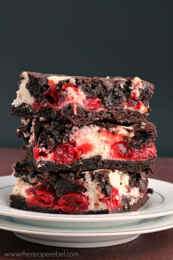 Cherry Cheesecake Brownies -- part of Easy Brownie Recipes for Every Occasion