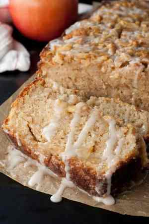 Caramel Glazed Country Apple Fritter Bread
