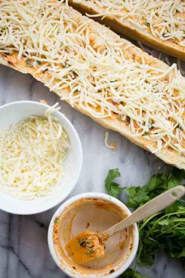 Chipotle Garlic Bread