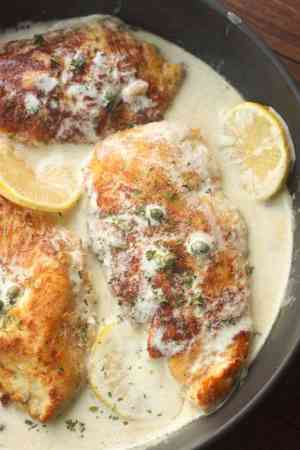 Creamy Lemon Chicken Picatta