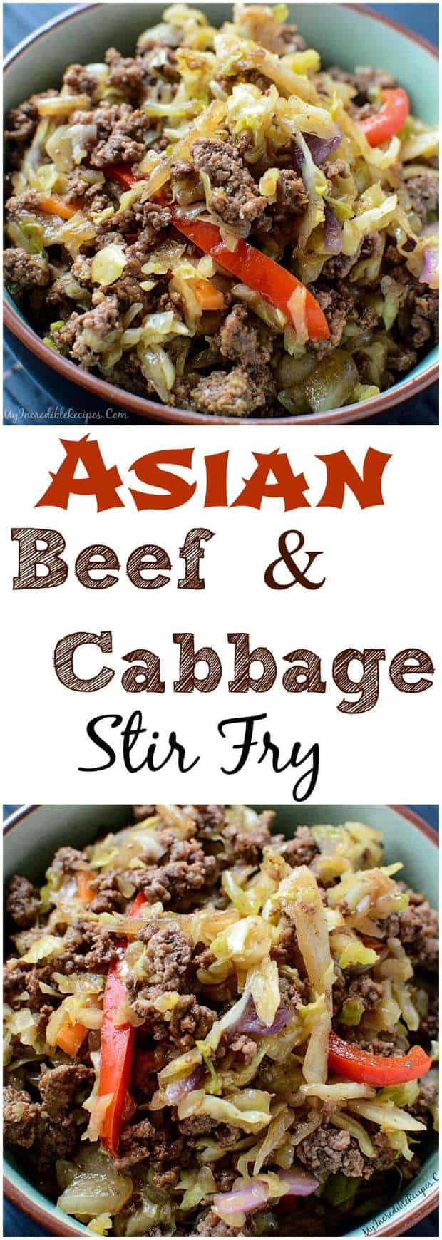 Easy Asian Beef and Cabbage Stir Fry