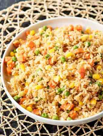 10 Minute Fried Rice