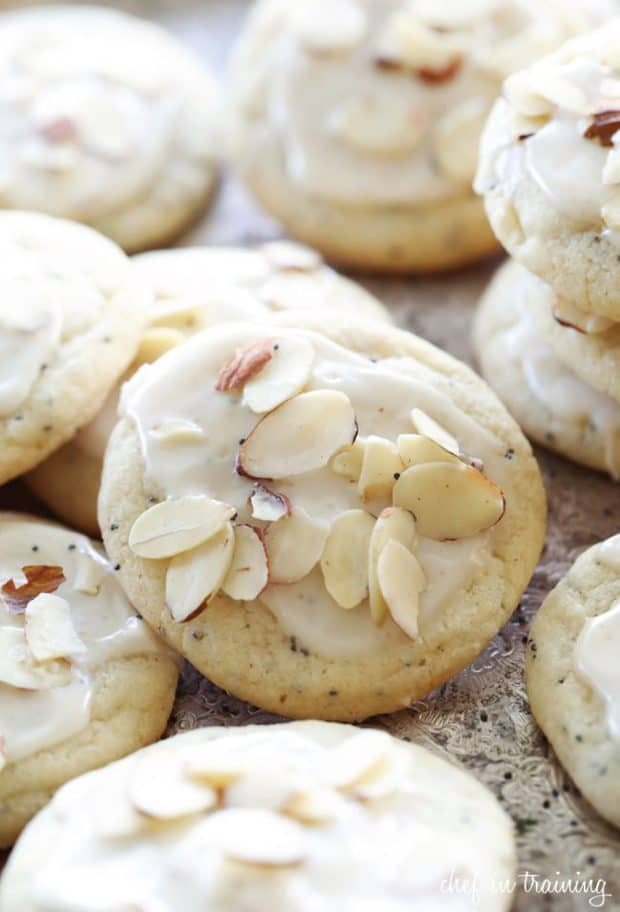 These are absolutely delightful. A perfect taste to bring in the warmer weather in a light chewy cookie.