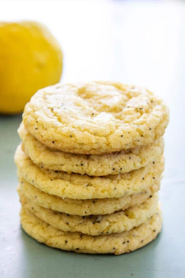 A sweet & simple twist on the classic cake. These Lemon Poppy Seed Sugar Cookies are soft & chewy topped with a light lemon buttercream. A fantastic Easter & Spring treat.