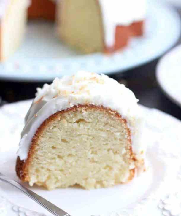 Coconut Bundt Cake -- part of 14 OF THE BEST BUNDT CAKE RECIPES