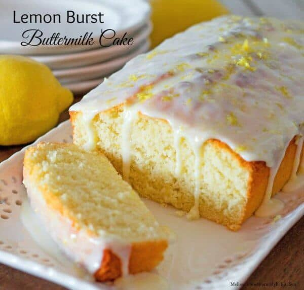 Lemon Burst Buttermilk Cake Recipe