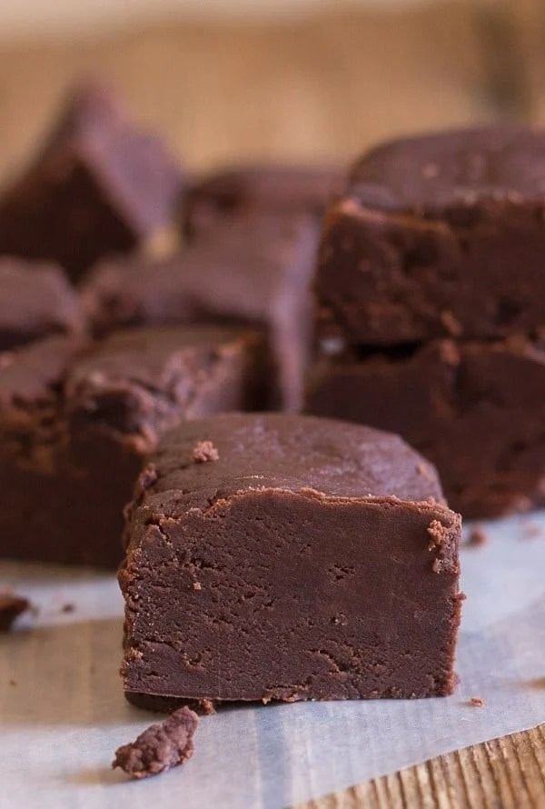 Old Fashioned Chocolate Fudge, This is the best, creamiest chocolate fudge, made the old fashioned way. The perfect holiday candy.
