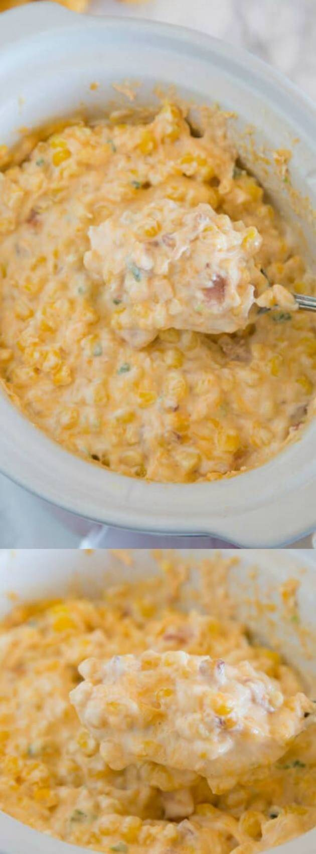 Cheesy Corn Dip Longpin