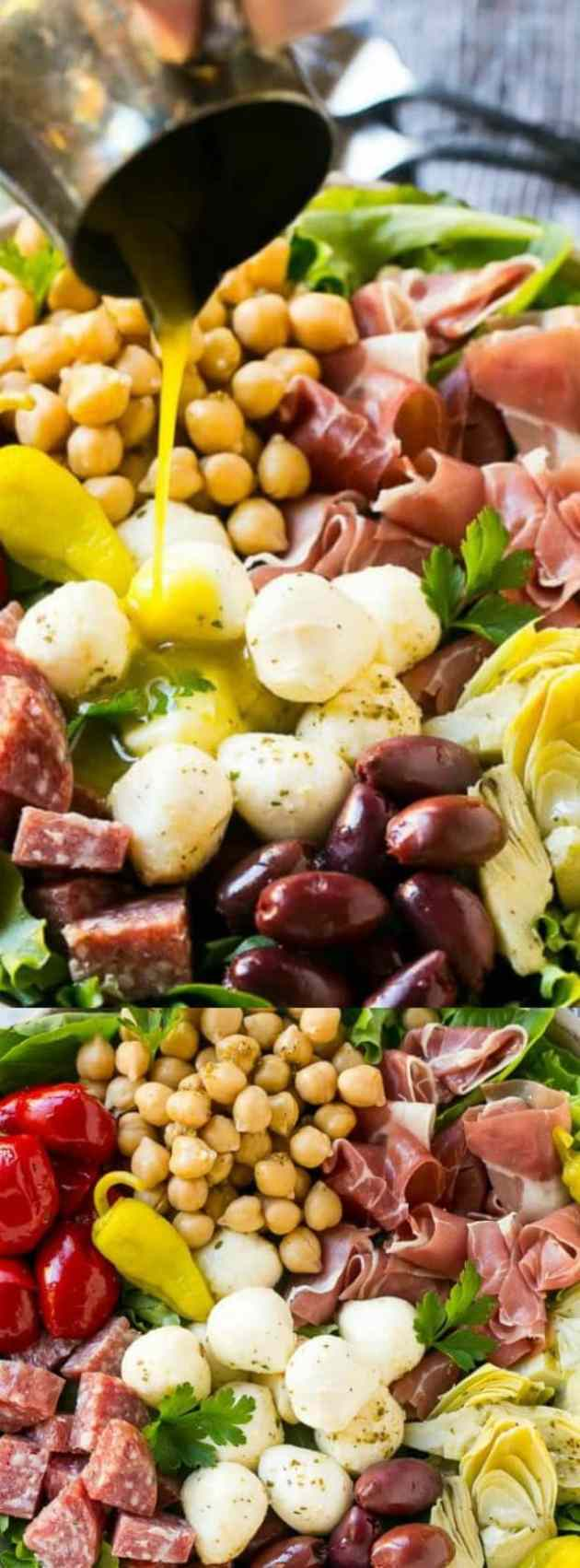 Antipasto Salad Longpin