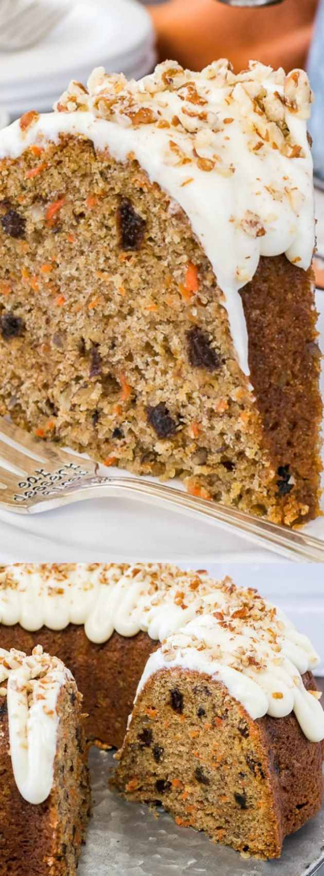 Carrot Bundt Cake Longpin