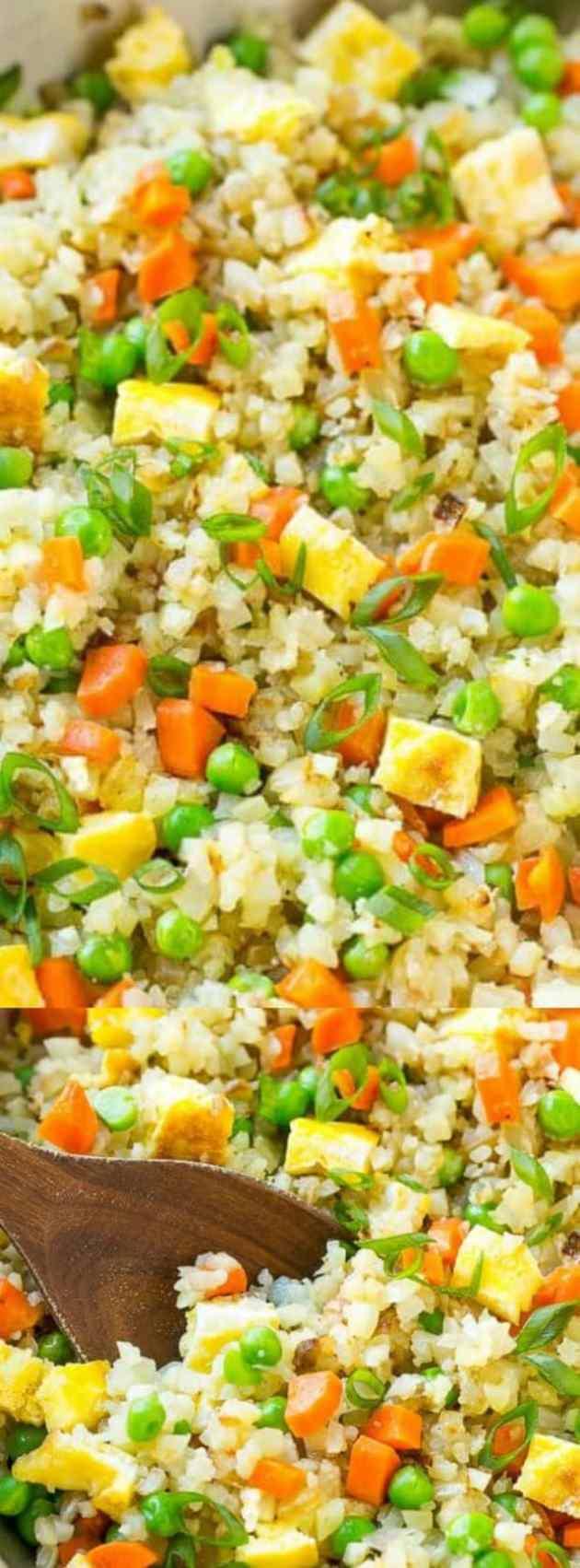 Cauliflower Fried Rice Longpin