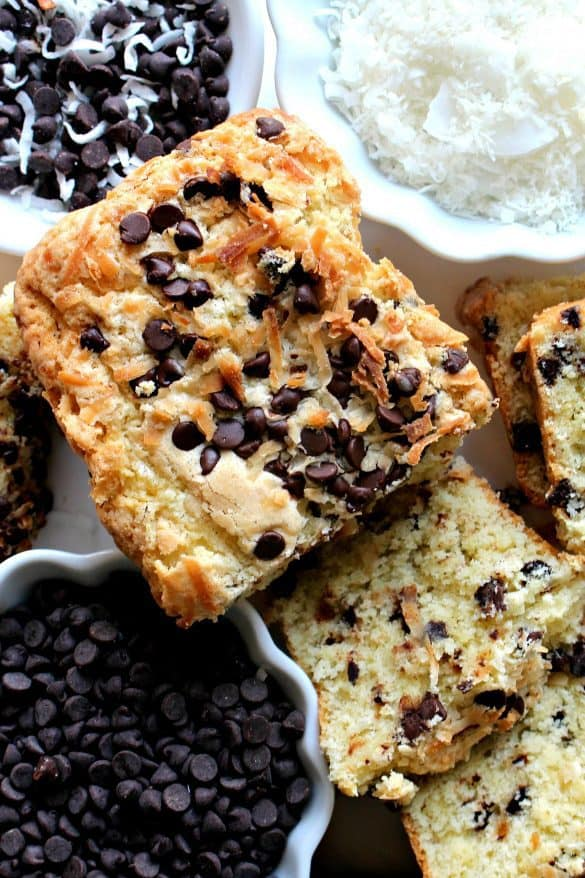 Coconut Milk Chocolate Chip Pound Cake Recipe
