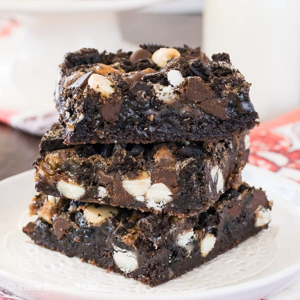 Gooey Oreo Brownie Recipe