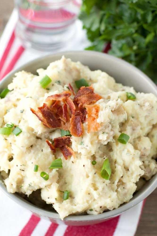Loaded Ranch Mashed Potatoes Recipe