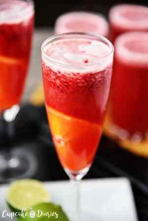 Raspberry Orange Sparkling Punch