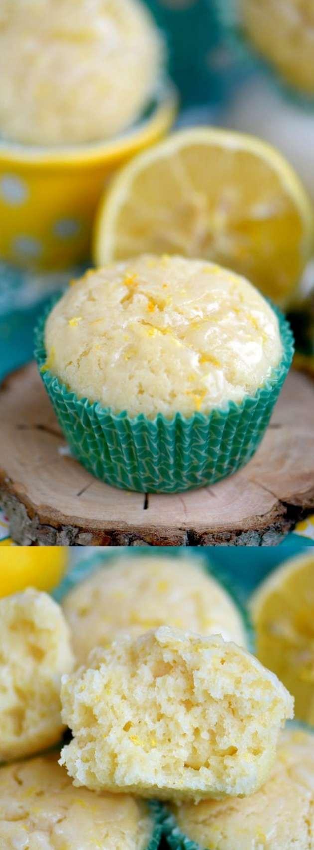 Skinny Lemon Muffins Longpin