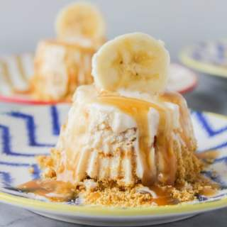 Bananas Foster Ice Cream Tartlets