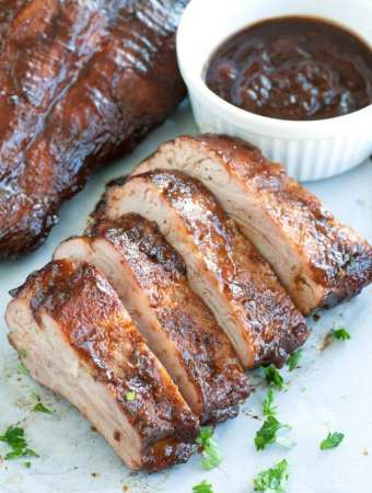 Cherry Cola Grilled Ribs