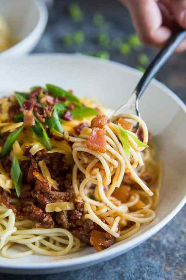 Cowboy Spaghetti -- Delicious ways to CHANGE up your Spaghetti Dinner Routine