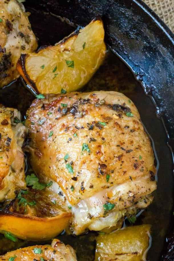 Easy Greek Lemon Chicken Recipe