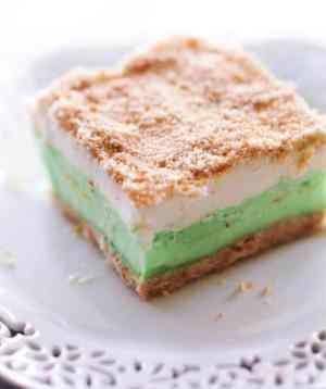 Lime Sherbet Dessert