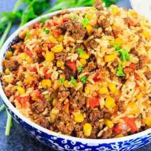Mexican Chorizo rice