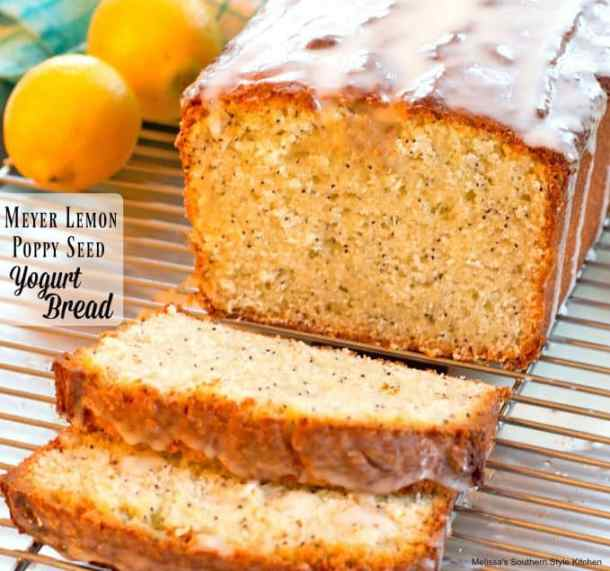 Meyer Lemon Poppy Seed Yogurt Bread recipe