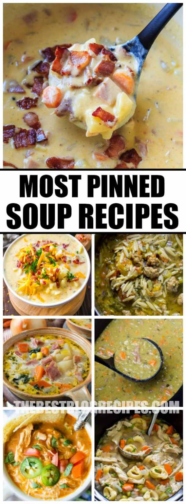 Most Pinned Soup Recipes