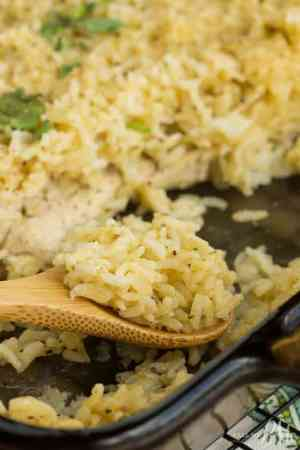 No Peek Chicken Rice Recipe