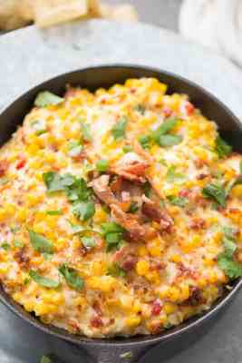 Outrageously Good Hot Corn Dip