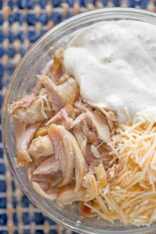 Slow Cooker Chicken Caesar Sandwiches Recipe