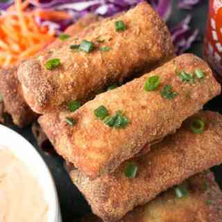 Thai Turkey Avocado Egg Rolls