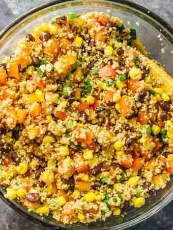 Best Southwest Couscous Salad