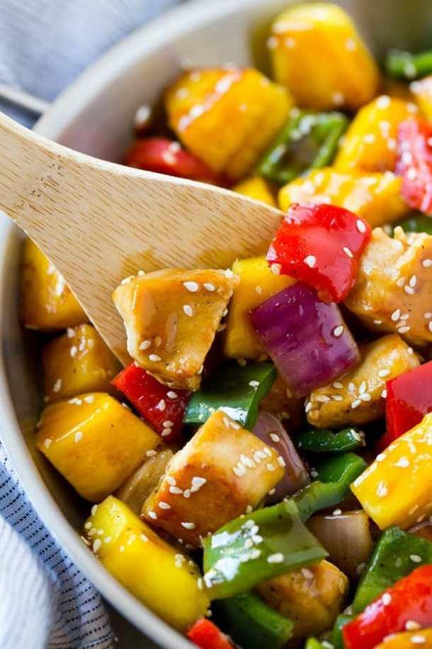 teriyaki chicken stir fry recipe