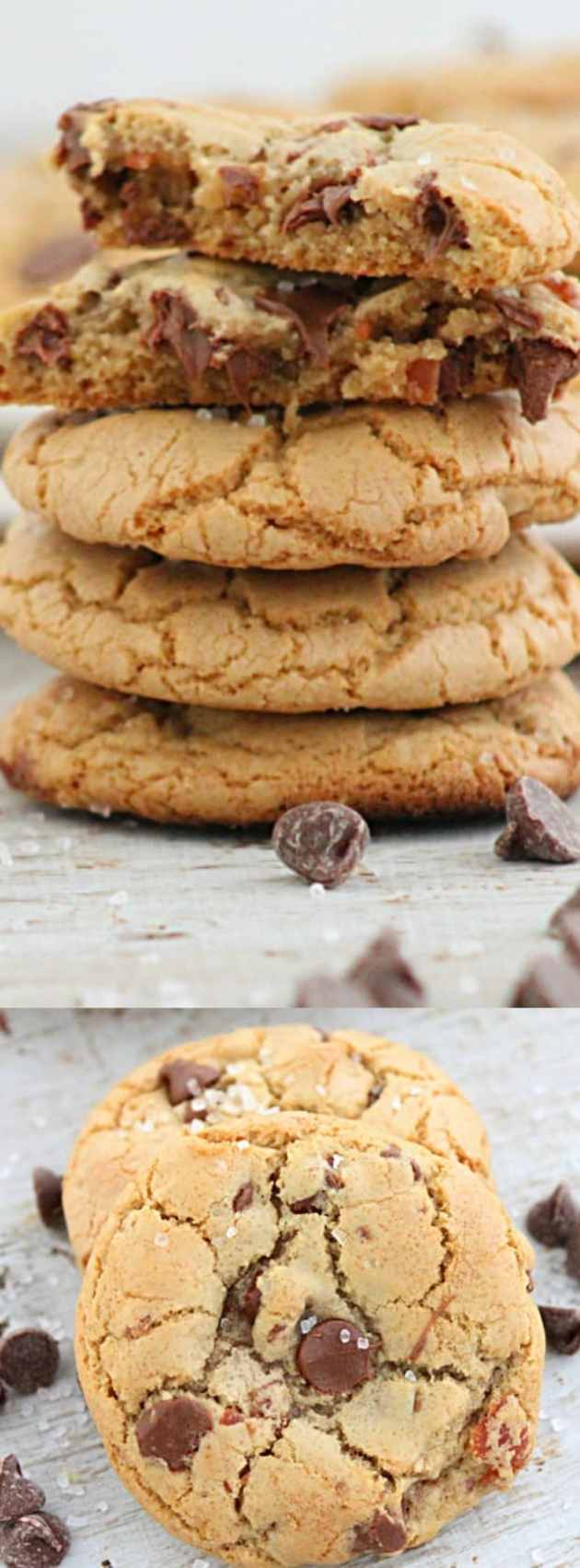 Chocolate Chip Cookies with Bacon and Sea Salt longpin