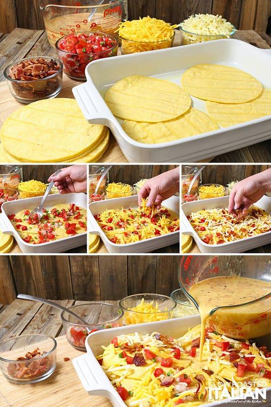 Mexican Lasagna Breakfast Casserole Recipe