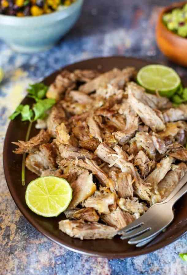Puerto Rican Instant Pot Pulled Pork Recipe