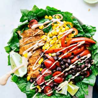 Chili Lime Chicken Salad