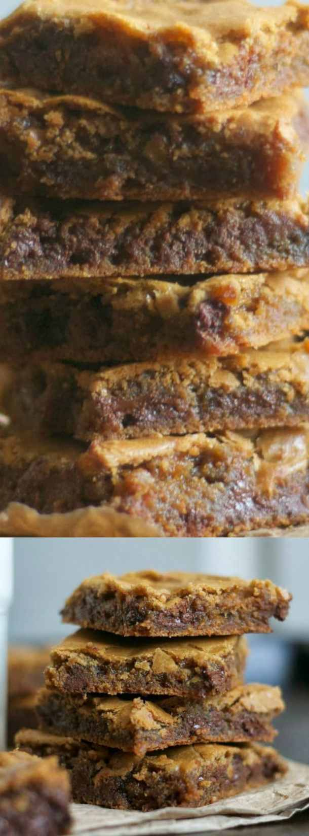 Butterscotch Chocolate Chip Brownies