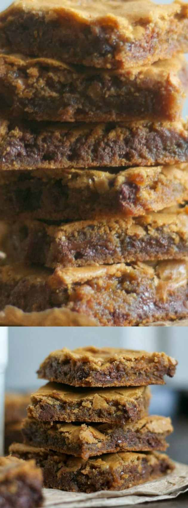 Butterscotch Chocolate Chip Brownies Longpin