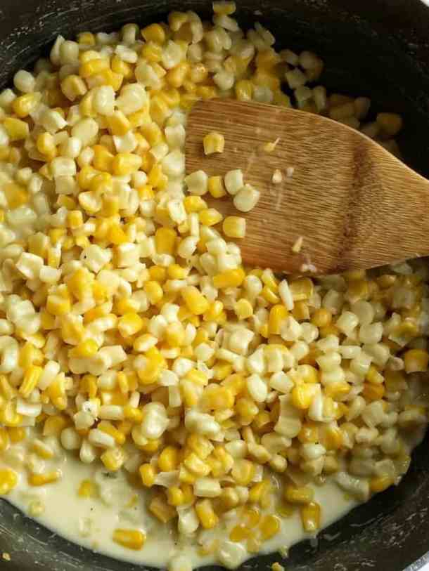 Honey Butter Creamy Skillet Corn