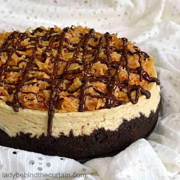 Instant Pot Samoa Cheesecake Recipe