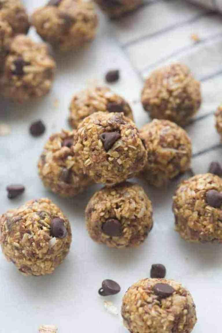 Oatmeal Peanut Butter Energy Bites Recipe
